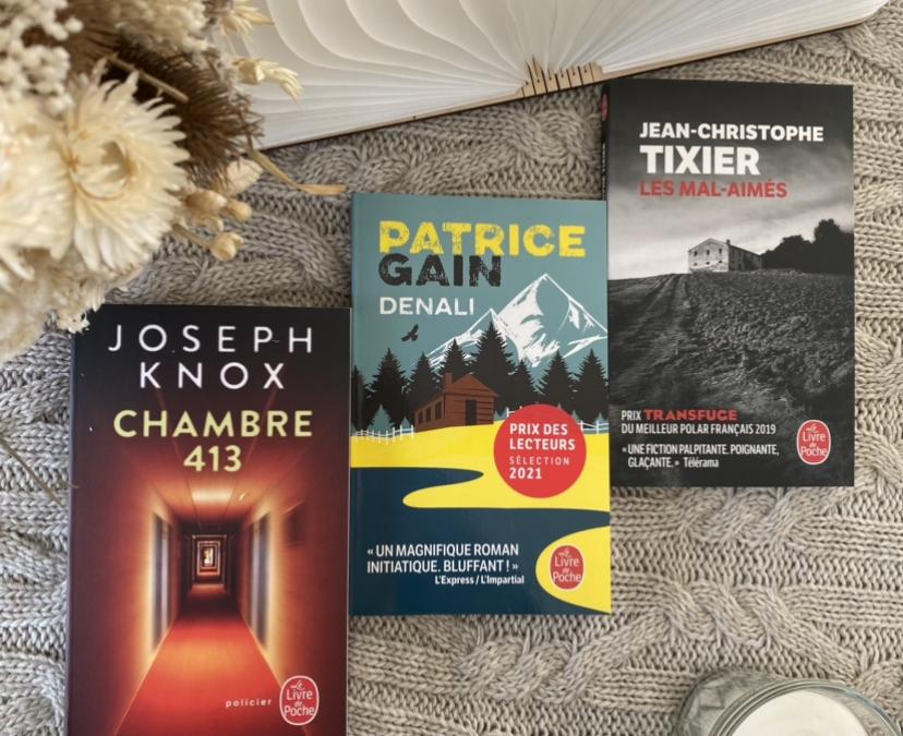 Prix des Lecteurs 2021 sélection mars