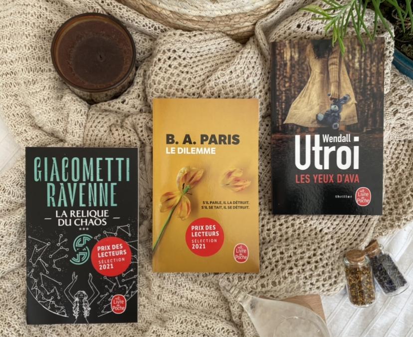 Prix des Lecteurs Livre de Poche Juin